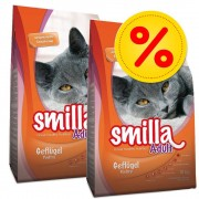 Smilla Fai scorta! 2 x 10 kg Smilla - Adult Sterilised