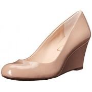 Jessica Simpson Footwear Women Sampson Wedge Pump Nude 7 B(M) US