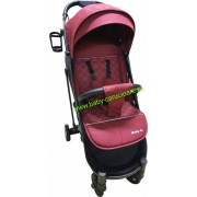 Cărucior sport ultracompact Baby Care S 600 Rosu