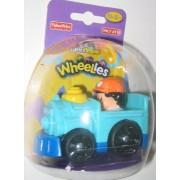 Fisher Price Little People Wheelies Easter Steam Engine