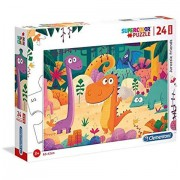 Puzzle Maxi Dinozauri Clementoni 24 piese