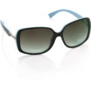 IDEE Over-sized Sunglasses(Grey, Green)