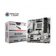 MB MSI B450M MORTAR TITANIUM, AM4, micro ATX, 4x DDR4, AMD B450, S3 4x, DP, HDMI, 36mj