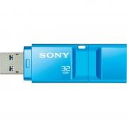 USB DRIVE, 32GB, Sony New microvault, USB3.0, Click, Blue (USM32GXL)