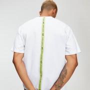 Mp T-shirt Rest Day con fascia sul retro - Bianco - M