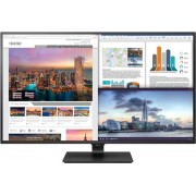 """Monitor IPS LED LG 42.5"""" 43UD79-B, Ultra HD (3840 x 2160), HDMI, DisplayPort, Boxe, 5 ms (Negru)"""
