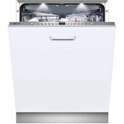 NEFF N50 S513M60X1G Fully Integrated Standard Dishwasher - Stainless Steel Control Panel with Fixed Door Fixing Kit - A++ Rated