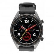 Huawei Gebraucht: Huawei Watch GT Active grau mit Silikonarmband grün grau
