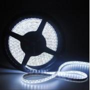 LED szalag , 3528 , 120 led/m , 7,2 Watt/m , hideg fehér , V-TAC