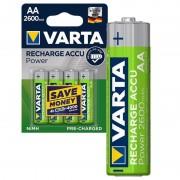 Pilhas AA Recarregáveis Varta Power Ready2Use 5716101404 - 2600mAh - 1x4
