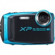 cámara digital fujifilm xp 120 azul cielo
