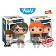 Set Harry Potter Mapa 42 Y Ron Con Raton Funko Pop Pelicula Original Envio Gratis 2017