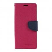 Mercury Pouzdro / kryt pro Samsung Galaxy S8 - Mercury, Fancy Diary Hotpink/Navy