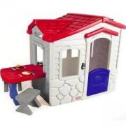 Детска къща за игра Сива - Къща за пикник - Little Tikes, 320150
