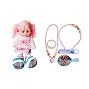 Maasha Jewellery Set For Girls / Musical Dolls For Kids Girls Fancy Fashion Plush Toys Combo of 2 gifts for kids girls gift for kids girls