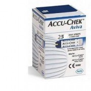 Roche Diabetes Care Italy Spa Strisce Misurazione Glicemia Accu-chek Aviva Brk Retail 25 Pezzi