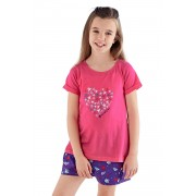 Mermaid club lányka pizsama színes 56