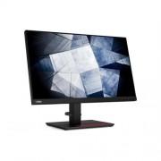 """Monitor Lenovo P24h-20 23.8"""" - 2560x1440, QHD, IPS, 16:9, 1000:1, 300cd, 4ms, HDMI+DP+USB-C+USB+RJ45, 3y, BEZRAMOVY, VESA"""