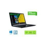 Notebook Acer A515-51-55QD Intel Core I5 4GB 1TB Tela LED 15.6 Windows 10 - Preto