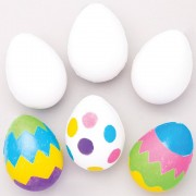 Baker Ross Design Your Own Squeezy Eggs (Pack of 6)