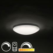 QAZQA LED plafondlamp 40cm met afstandsbediening - Extrema