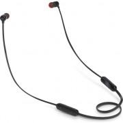 Casti in ear JBL T110BT, bluetooth, microfon, negru
