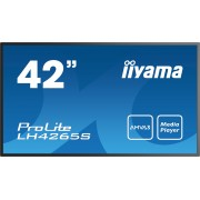 iiyama 42' 1920x1080, AMVA3 panel, Full Metal Housing, Fan-less, Speakers, Multiple In-/Outputs (3x VGA, HDMI, RCA, BNC and more), 400 cd/m², 3000:1 Static Contrast, 6.5 ms, Landscape or Portrait mode