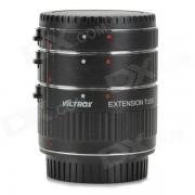 Viltrox ET-C Auto Macro Extension Set Anillo Tubo para Canon DSLR - Negro
