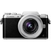 Aparat Foto Mirrorless Panasonic DMC-GF7KEG-S, cu Obiectiv LUMIX G VARIO 12-32 mm/F3.5-5.6 ASPH. /MEGA O.I.S, 16 MP, Wi-Fi (Negru/Argintiu)