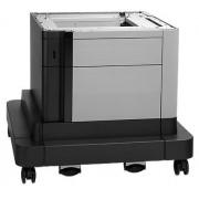 HP - Alimentador de papel de 500 hojas con compartimento LaserJet
