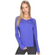 Nike Dry Miler Long Sleeve Running Top Paramount BlueBinary Blue