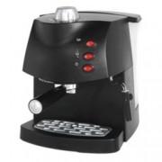 Ръчна еспресо машина Rohnson R 973, 850W, 15 bar, отделен кран за регулиране на количеството пара, двоен филтър от неръждаема стомана за перфектен каймак, дюза за капучино, черна