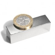 Magnet neodim bloc, 50x15x15 mm, putere 33 kg