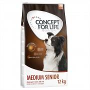 12kg Concept for Life Medium Senior ração