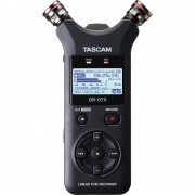 Tascam DR-07X stereo handheld recorder en USB interface