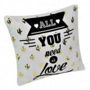 Perna decorativa All You Need Is Love 38x38 cm