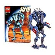 Lego Year 2002 Star Wars Series 12 Inch Tall Droid Set #8012 - SUPER BATTLE DROID with Movable Arms and Legs Plus Arm Guns (Total Pieces: 381)