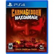 Carmageddon Max Damage - Ps4 - Unissex