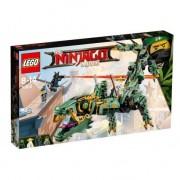 Lego ninjago movie drago mech ninja verde