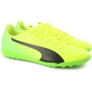 Puma evoSPEED 17.5 TT Football Shoes(Yellow)