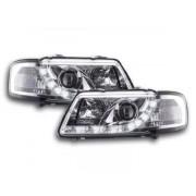 FK-Automotive faro luci di marcia diurna Daylight Audi A3 tipo 8L anno di costr. 96-00 cromato