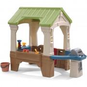 STEP2 Great Outdoors Playhouse: Maisonnette pour enfants, fenêtres intégrées