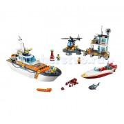 Lego Конструктор Lego City 60167 Лего Город Штаб береговой охраны