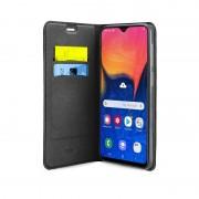 SBS Mobile Wallet Lite in PU voor Samsung A10, Zwart