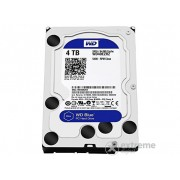 "Western Digital Blue 4TB 3,5"" HDD (WD40EZRZ, 5400rpm, SATA-600, 64MB)"