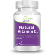 Natures Velvet Lifecare Natural Vitamin C 500mg 60 Veggie Capsules