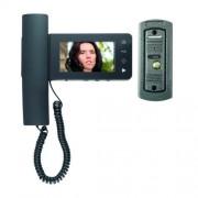Vezetékes, színes video-kaputelefon szett