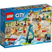 Lego city people pack divertimento in spiaggia