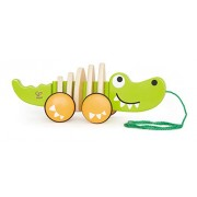 Hape-Wooden Walk-A-Long Croc