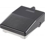 Mini-intrerupator de picior IPM2B, 3 A / 250 V/AC, IP40, negru